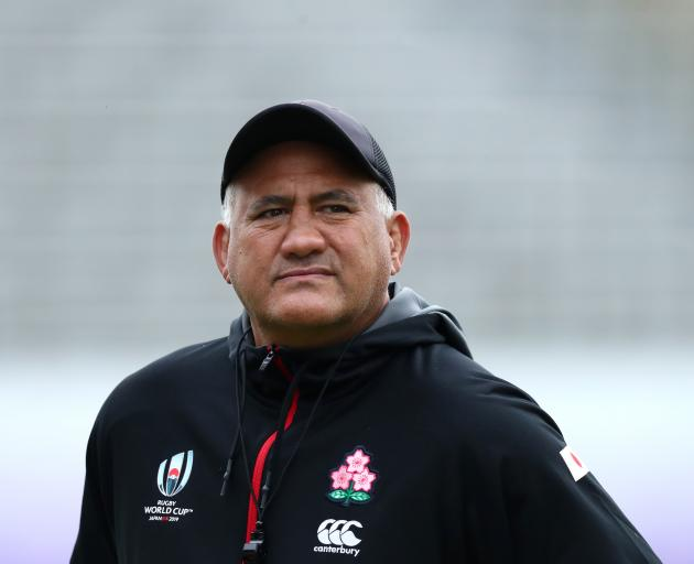 Jamie Joseph is likely to have plenty of suitors should he not land the All Blacks' top job....