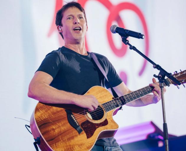 James Blunt will play two shows in New Zealand, including one in Christchurch, next year. Photo: Getty Images