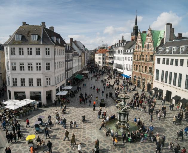 Stroget, Copenhagen. Photo: Getty Images