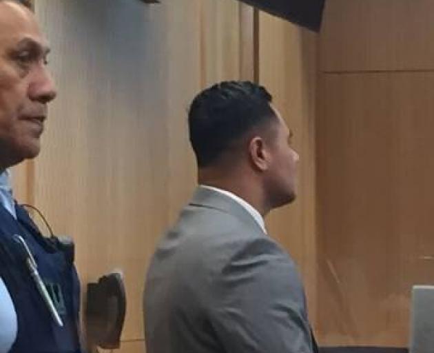 Tolu Ma'anaiama, 33, at the High Court in Christchurch. Photo: Kurt Bayer