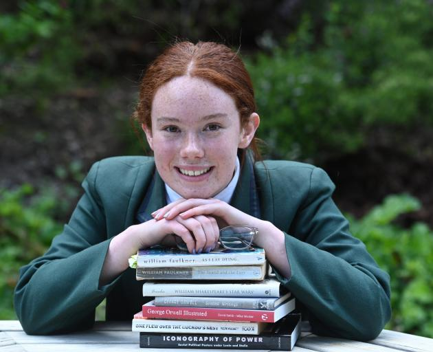 Columba College pupil Isobel Fraser scored the top mark in New Zealand in her ICAS English exam....