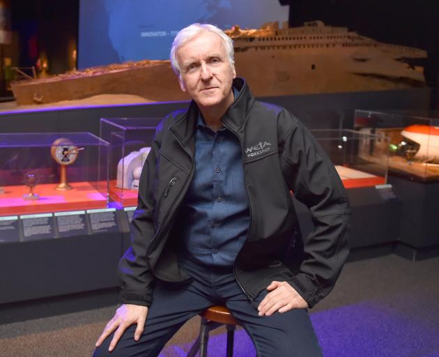 Film director and explorer James Cameron shared his views on climate change, and spoke about his...