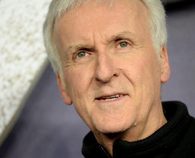 "James Cameron attends the World Premiere of ""Alita: Battle Angel"" held at Odeon Leicester Square on January 31, 2019 . Photo: Getty Images"