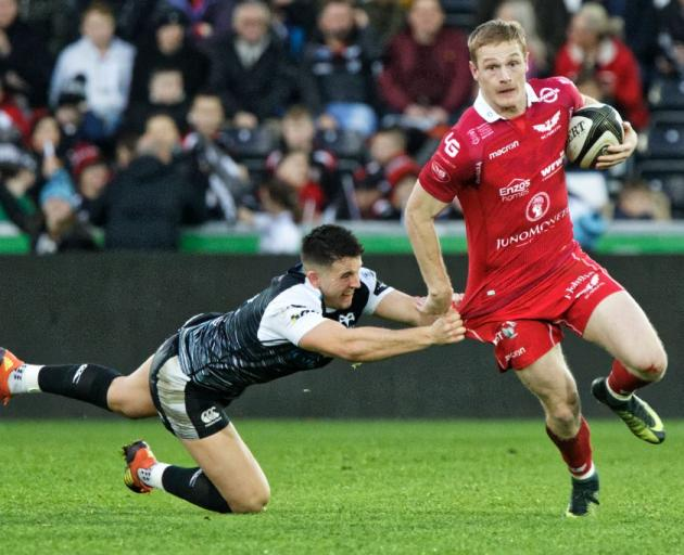 Johnny McNicholl has been included in the newest Wales squad. Photo: Getty Images