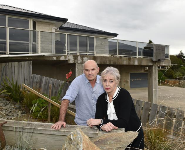 Pete and Nicole Labes are considering going back to the High Court over an ongoing stoush with the Dunedin City Council. Photo: Gregor Richardson
