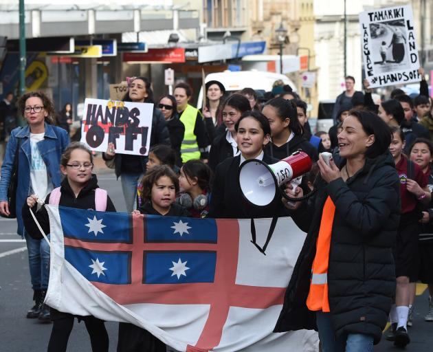 About 80 people in Dunedin joined nationwide protests earlier this year calling for change at the...