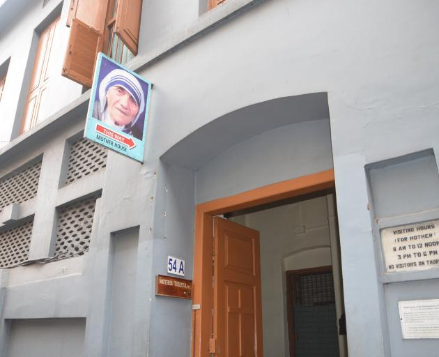 Mother Theresa's home.