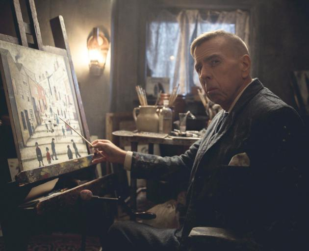Timothy Spall as L.S. Lowry in the film of the artists life. Photo: NZIFF