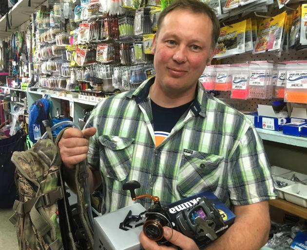 Stuart Middendorf reclaimed $900 worth of items after chasing down the man who allegedly stole...