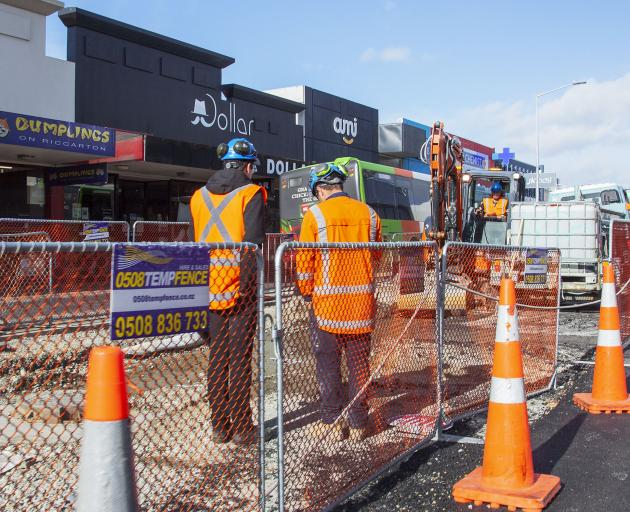 The city council will hit pause on the road works along Riccarton Rd for six weeks from the...