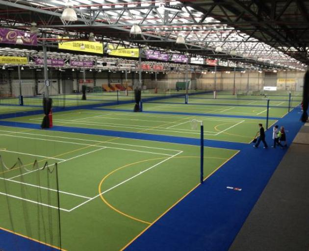 The Edgar Centre, where the Southern Steel will play the Mainland Tactix on Sunday. Photo: ODT.