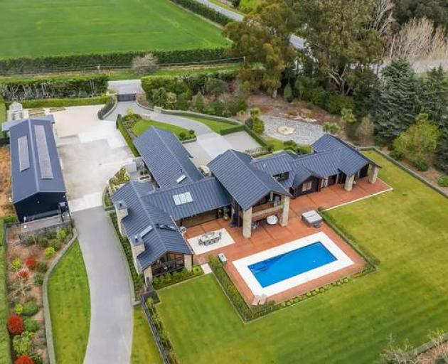 Steve Hansen's lifestyle property for sale in Canterbury. Photo / Supplied
