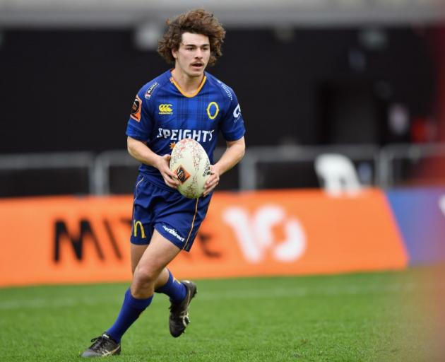 Otago fullback Taylor Haugh was called in to the national development sevens squad. Photo: Getty...