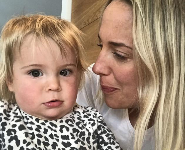 Worrying times for Wanaka mother Arna Craig and her daughter Ida (15 months), who has a heart condition and requires regular monitoring, checkups and future surgery. The nearest paediatric hospital is in Dunedin. Photo: Arna Craig
