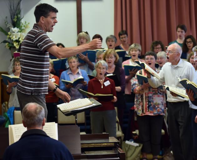David Burchell will conduct City Choir Dunedin in Handel's Messiah. Photo: Peter McIntosh