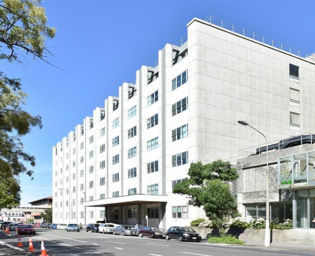 Dunedin Public Hospital. Photo: Gregor Richardson