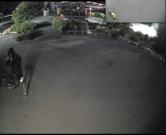 Police are looking for this person in relation to a burglary at Clearview Primary School. Photo:...