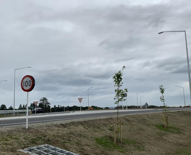 The Edendale Realignment Project opened in the Southland town this morning. PHOTO: Abbey Palmer