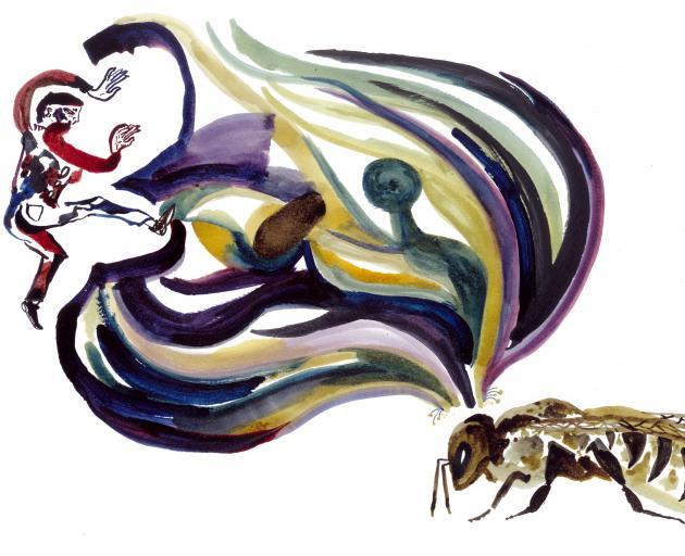 Enter the bee dream, by Suus Agnes Claessen