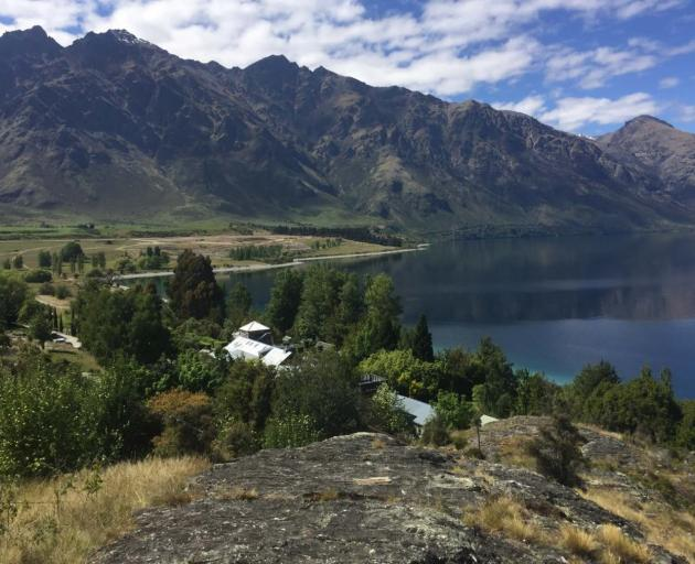 A planned retreat for academics will have a commanding view over Lake Wakatipu. Photo: University of Otago