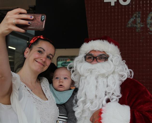 Katie Herman took son Leo to the City Centre Christmas Festival and Market, where he met Santa...