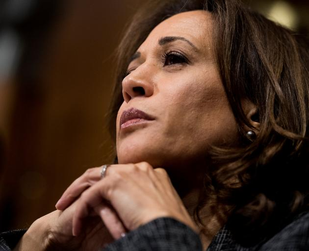 In September, Kamala Harris was among a handful of Democrats who aggressively questioned...