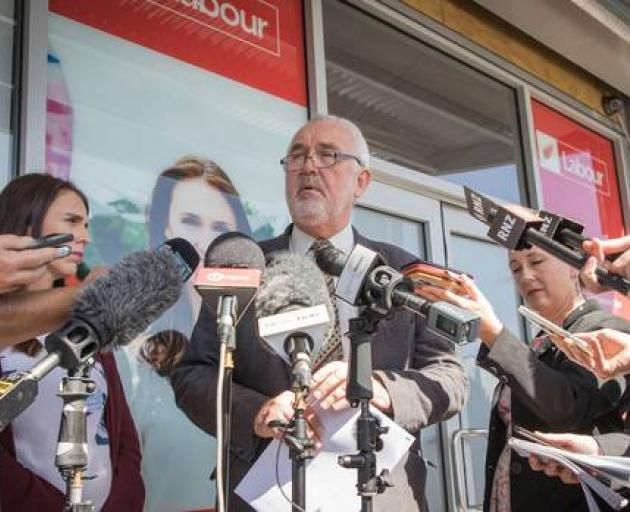 Labour Party president Nigel Haworth resigned during the saga in September. Photo: NZ Herald