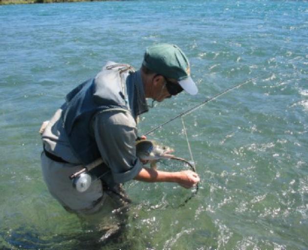 Graeme Warren was a keen fisherman. Photo: ODT files