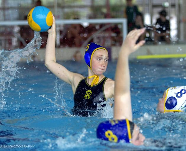 Rangi Ruru's Aggie Weston was named in the South Island secondary school water polo tournament...