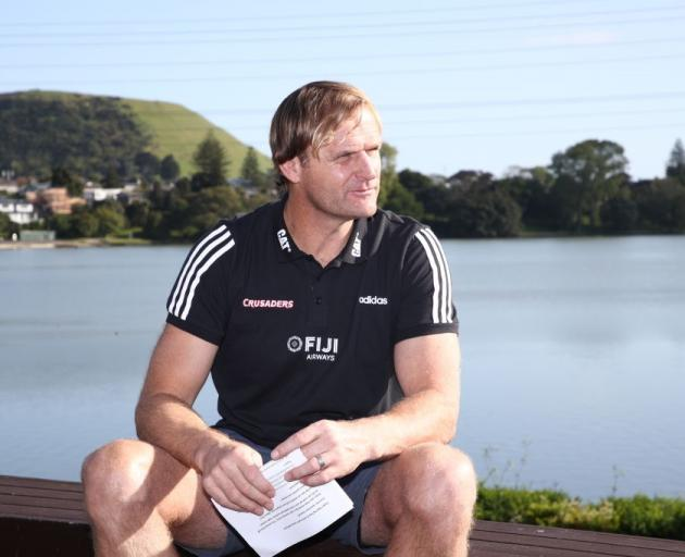 Scott Robertson is believed to have his interview for the All Black coaching job on Monday. Photo...