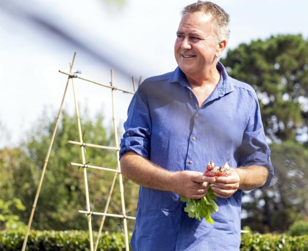 Simon Gault's new book is about the Kiwi summer and the images it creates for him — fun times...
