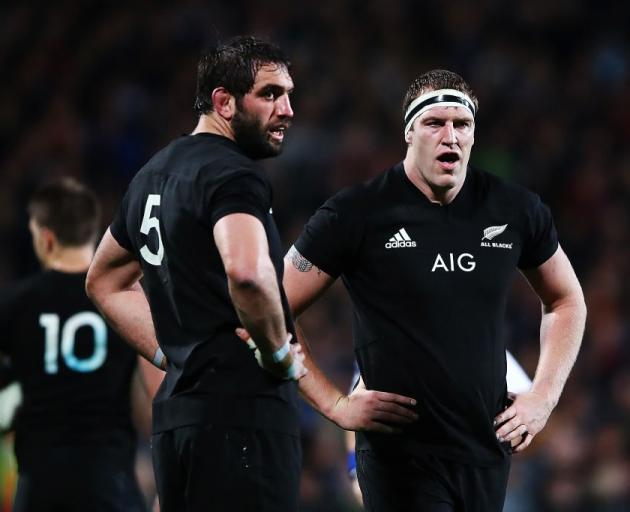 Sam Whitelock and Brodie Retallick have been pillars in the locking positions for the All Blacks...