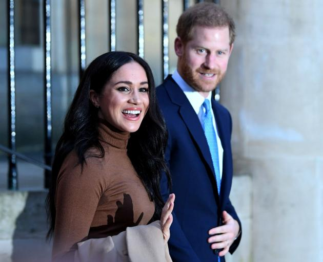 Prince Harry and Meghan, Duchess of Sussex, visited Canada House in London this week. She then...
