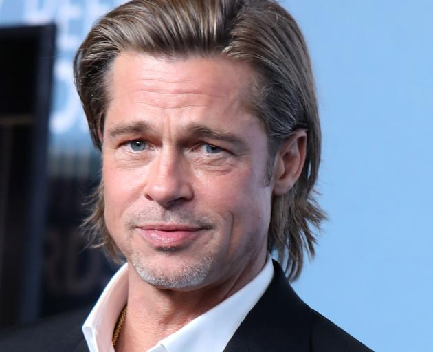 Brad Pitt won the SAG award for best supporting actor.  Photo: Reuters