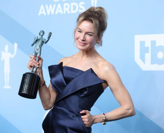 Renee Zellweger added a SAG award to go with her recent Golden Globe win for her portrayal of...