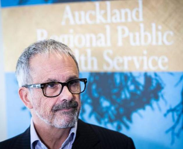 Dr William Rainger, Auckland Regional Public Health Service director, says a person may be...