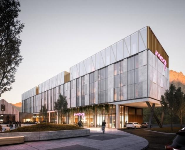 This newly-announced Moxy Queenstown hotel promises to deliver an experience rather than simply a room. Photo: Supplied
