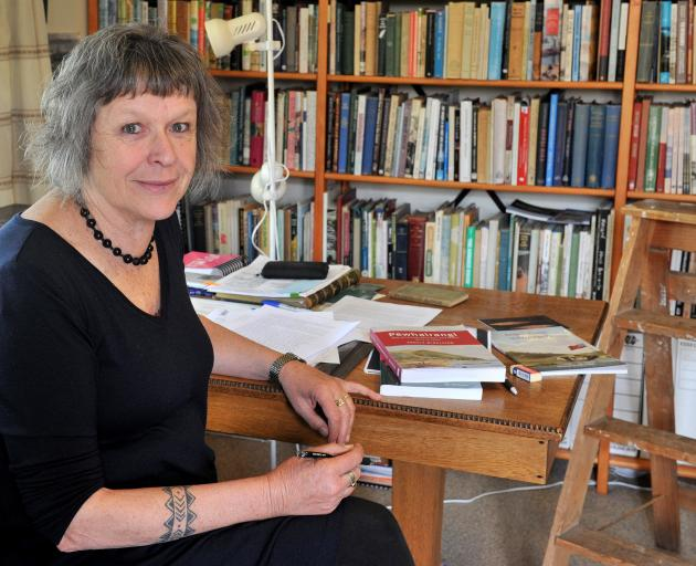 The late Dr Angela Middleton, author of Pewhairangi, a book about early New Zealand missionaries,...