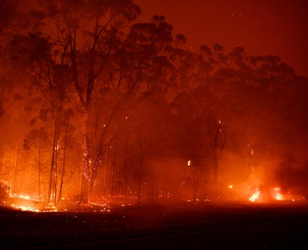 More than 100 fires are burning across the state. Photo: Getty images