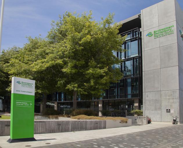 Environment Canterbury headquarters. Photo: Geoff Sloan