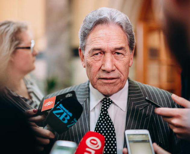 Foreign Affairs Minister Winston Peters. Photo: RNZ