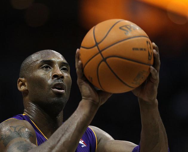 Kobe Bryant. Photo: Supplied