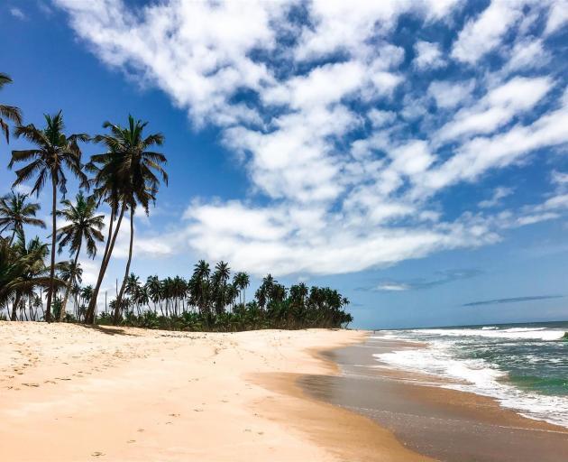 Busua Beach in the western region of Ghana. PHOTOS: GETTY IMAGES