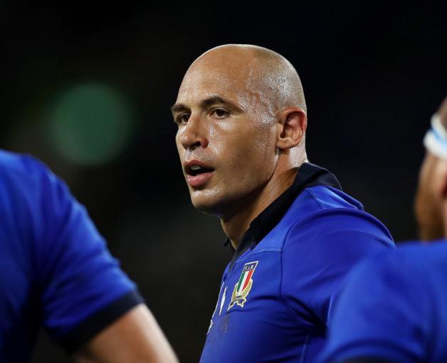 Sergio Parisse. Photo: Getty Images