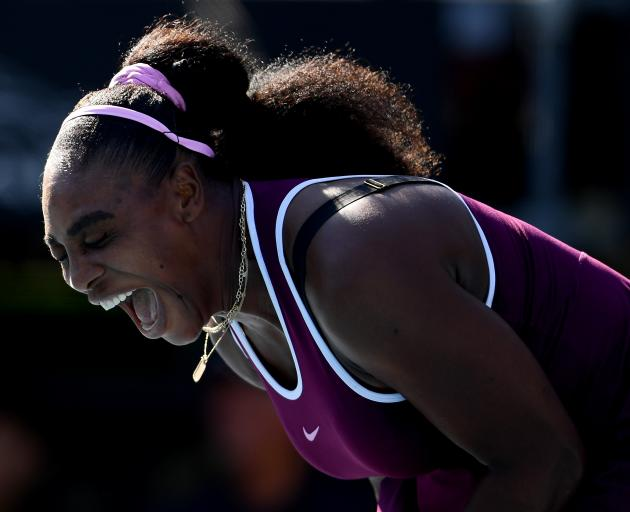 Serena Williams celebrates winning her first ATP final since 2017. Photo: Getty Images