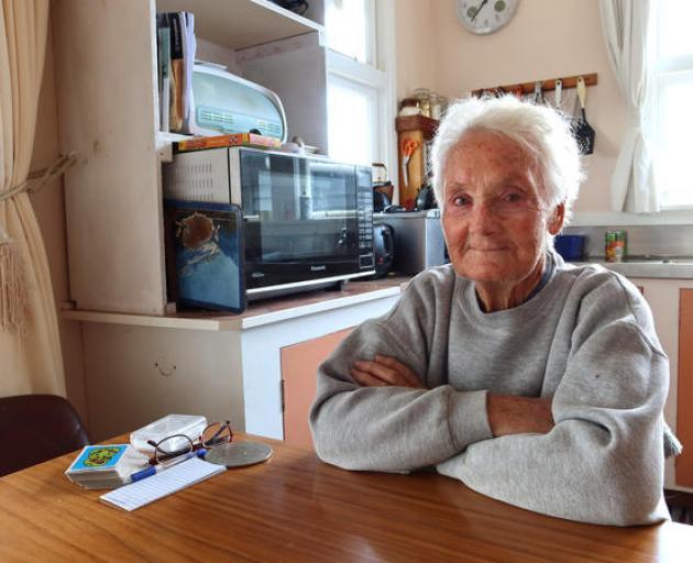 Ward resident Jean Reynish. Photo: Chloe Ranford/LDR