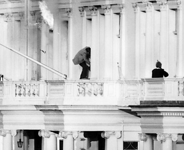 Iranian embassy siege was ended by an SAS raid. Photo: Getty Images