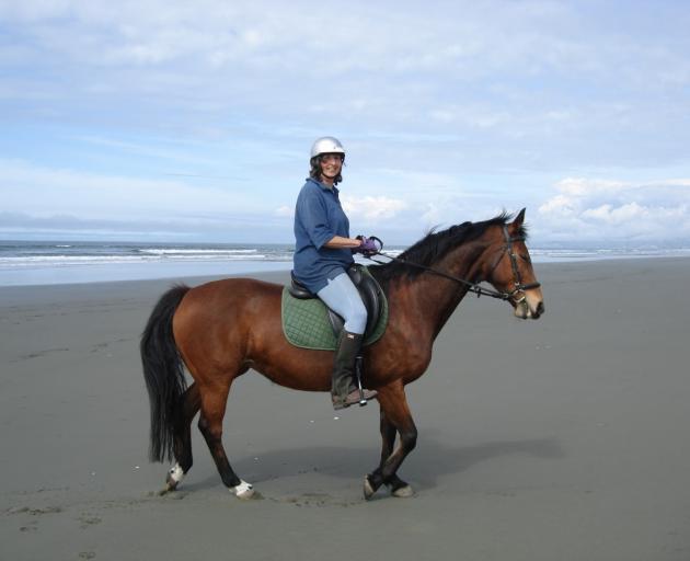 Jenny Hughey is involved in a pony club. Photo:Supplied
