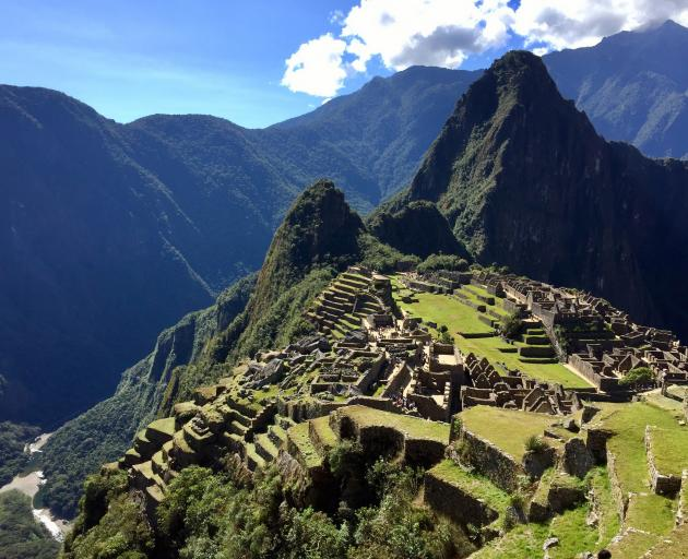 Machu Picchu is a UNESCO World Heritage site visited by more than one million tourists a year.  Photo: Supplied