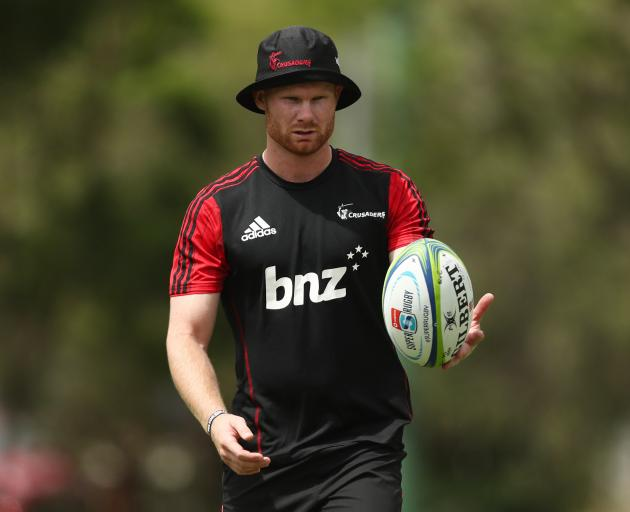 Mitchell Drummond will captain the Crusaders in the second half against the Hurricanes. Photos:...